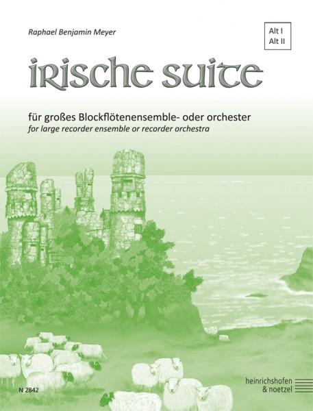 Irische Suite - Altblockflöte