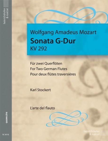 Sonata G-Dur für 2 Querflöten