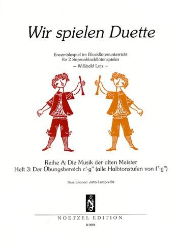 Wir spielen Duette, Heft 3