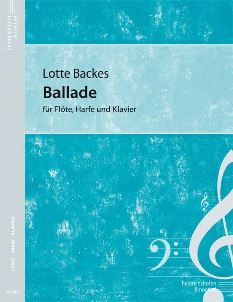 Ballade für Flöte, Harfe und Klavier
