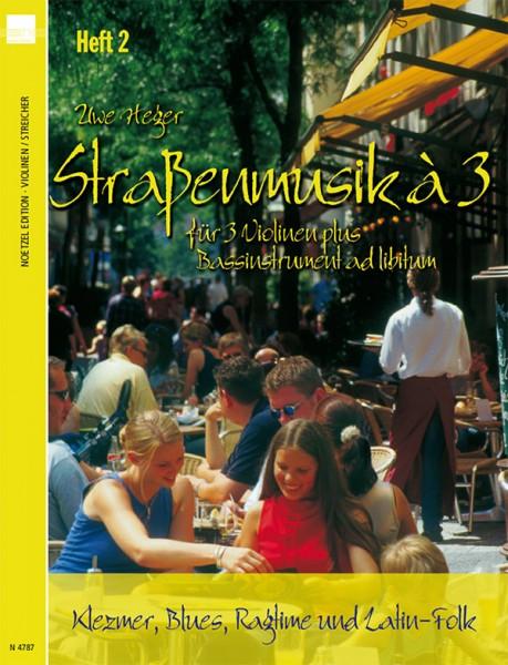 Straßenmusik à 3, Band 2 (2. Stimme: Viola 1)