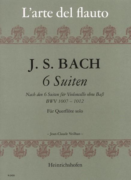 6 Suiten für Querflöte solo