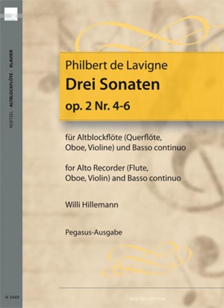 6 Sonaten, Heft 2
