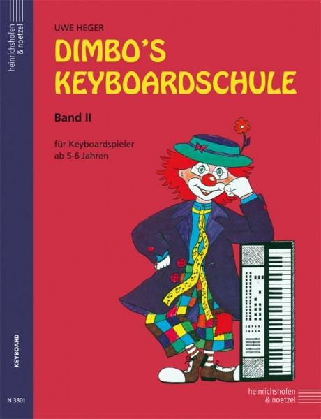 Dimbo's Keyboardschule, Band 2