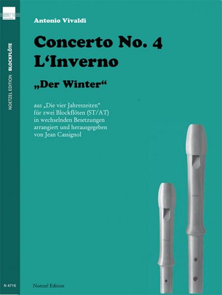 """Concerto No. 4 L'Inverno """"Der Winter"""""""