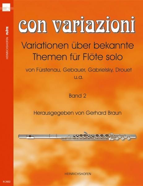 Con variazioni II, Bd 2