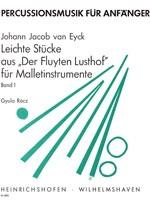 """Leichte Stücke aus """"Der Fluyten-Lusthof"""", Heft 1"""